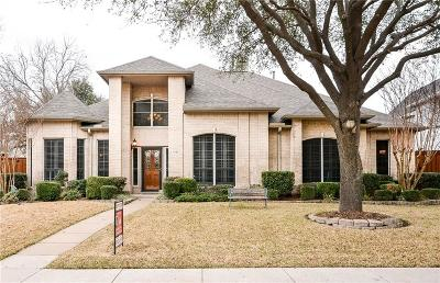 Richardson Single Family Home Active Option Contract: 3301 Stonehenge Drive