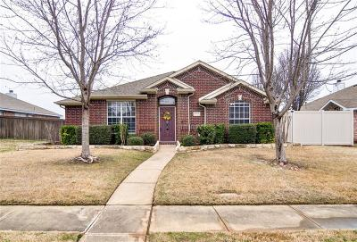 Frisco Single Family Home Active Contingent: 10712 Copperwood Drive