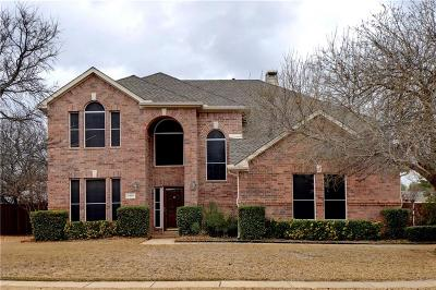 Corinth Single Family Home For Sale: 3401 Attaway Circle