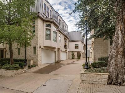 Dallas Townhouse For Sale: 2441 Worthington Street