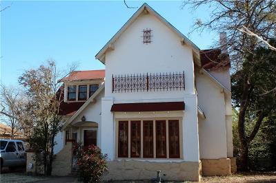 Abilene Single Family Home For Sale: 1725 Sycamore Street