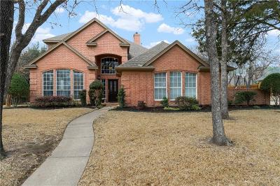 Keller Single Family Home Active Option Contract: 1318 Axton Carter Drive
