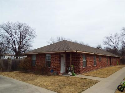 Eastland County Multi Family Home For Sale: 111 N Dixie Street