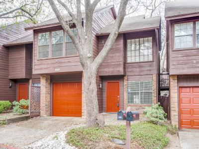 Dallas Townhouse For Sale: 6107 Summer Creek Circle