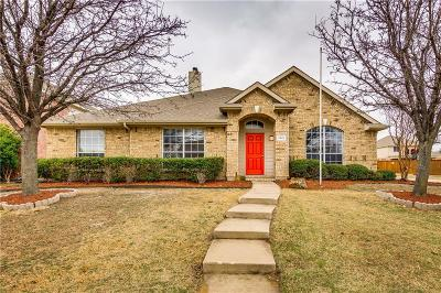 Allen Single Family Home Active Option Contract: 1613 Branch Creek Drive