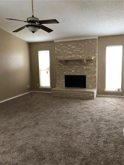 Mesquite Single Family Home Active Option Contract: 4620 Gleneagle Street