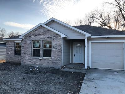 Dallas Single Family Home For Sale: 4309 Cardinal Drive
