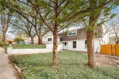 Dallas Single Family Home For Sale: 9226 Mercer Drive