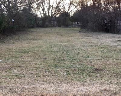 Dallas Residential Lots & Land Active Option Contract: 5031 Watson Drive
