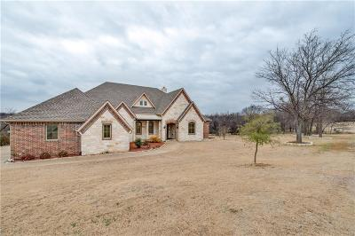 Little Elm Single Family Home Active Contingent: 3711 Misty Cove