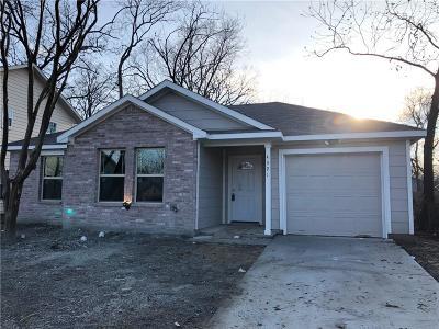 Dallas Single Family Home For Sale: 4321 Cardinal Drive