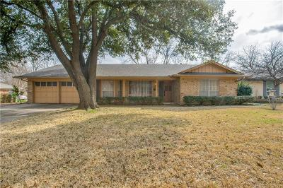 Fort Worth TX Single Family Home For Sale: $189,900