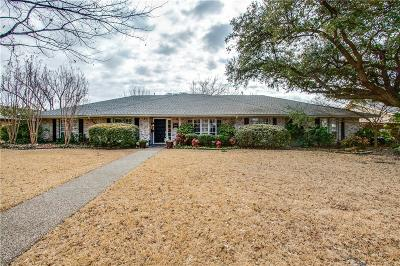 Dallas Single Family Home For Sale: 4098 Deep Valley Drive