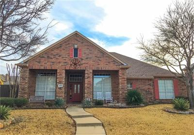 Allen Single Family Home Active Contingent: 1702 Harvest Glen Drive