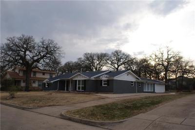 Fort Worth TX Single Family Home For Sale: $264,997