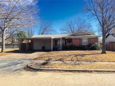 Mesquite Single Family Home Active Option Contract: 3306 Jamaica Way