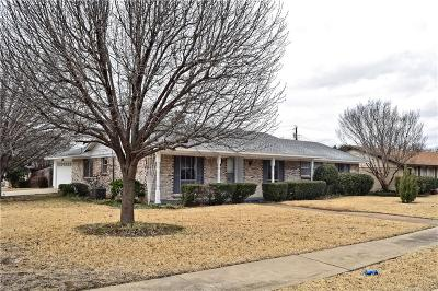 Irving Single Family Home For Sale: 3737 Chime Street