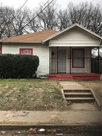 Dallas Single Family Home Active Option Contract: 3928 Kynard Street