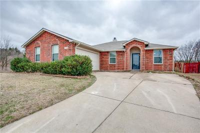 Mesquite Single Family Home Active Option Contract: 1524 Big Lake Drive