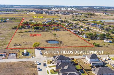 Aubrey Residential Lots & Land For Sale: 3776 Fm 1385 Road