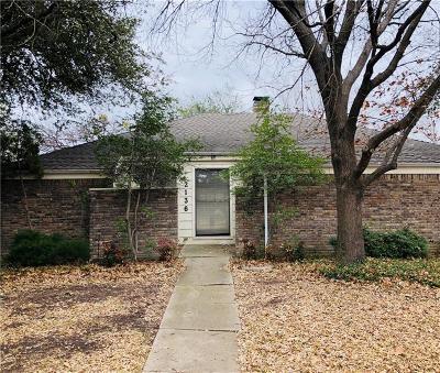 Single Family Home Active Option Contract: 2136 Hondo Drive