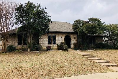 Plano Single Family Home Active Option Contract: 1921 Country Club Drive