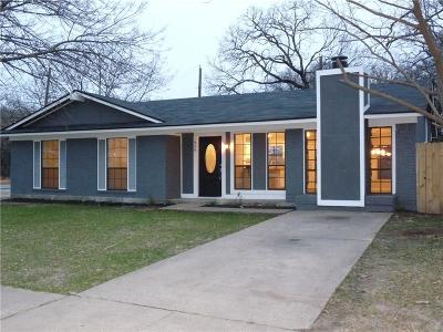 Dallas Single Family Home Active Option Contract: 956 Pleasant Hills Drive