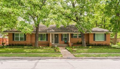 Dallas Single Family Home For Sale: 10306 Lippitt Avenue