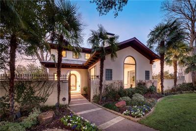 Highland Park, University Park Single Family Home For Sale: 3424 Cornell Avenue
