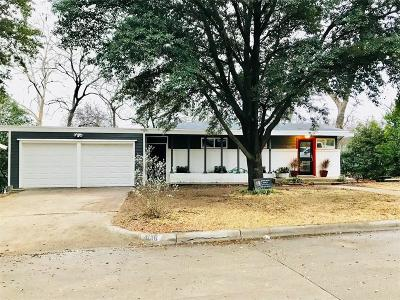 Fort Worth Single Family Home For Sale: 4016 Micki Lynn Avenue