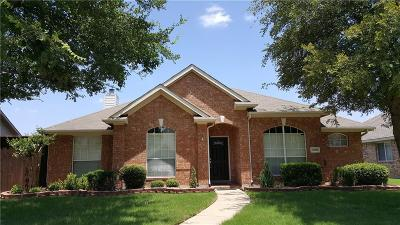 Frisco Single Family Home Active Option Contract: 11194 Clearstream Lane