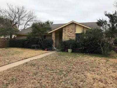Mesquite Single Family Home For Sale: 1304 Farley Drive