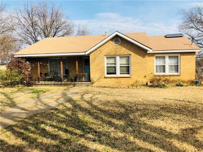 Haltom City Single Family Home Active Option Contract: 4411 Fossil Drive