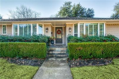 Dallas, Fort Worth Single Family Home For Sale: 4024 Alta Vista Lane