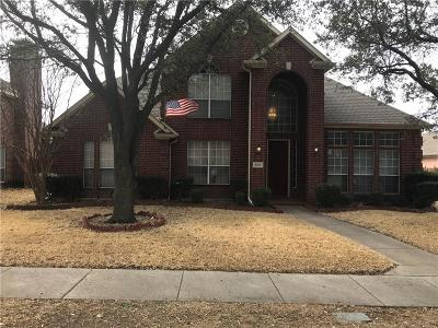 Carrollton Single Family Home For Sale: 2640 Deep Valley Trail