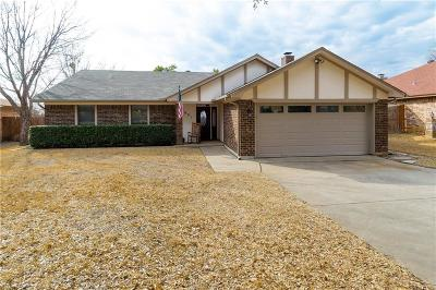 Bedford Single Family Home Active Option Contract: 3021 Bluebonnet Lane