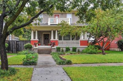 Dallas, Fort Worth Single Family Home For Sale: 1711 6th Avenue