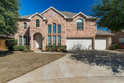Grapevine Single Family Home Active Option Contract: 3400 Ballard Drive