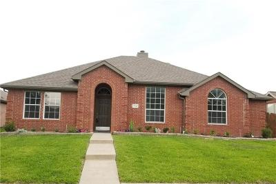 Allen Single Family Home Active Option Contract: 712 Bethany Lake Boulevard