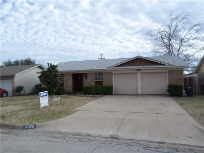 Fort Worth Single Family Home For Sale: 3725 Cibolo Drive