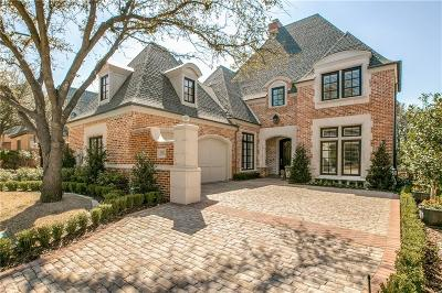 Dallas Single Family Home Active Option Contract: 5525 Prestwick Lane