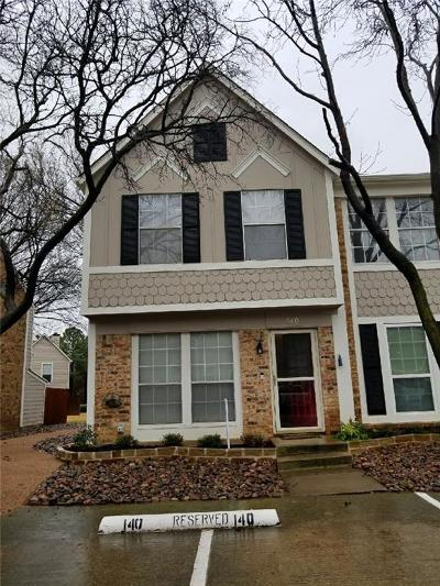 Euless Townhouse For Sale: 140 Winchester Drive