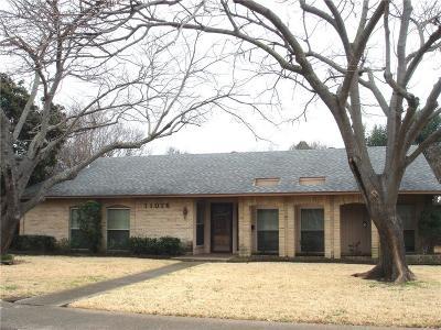 Dallas Single Family Home For Sale: 11016 Fernald Avenue