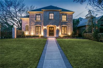 Dallas Single Family Home For Sale: 8915 Guernsey Lane