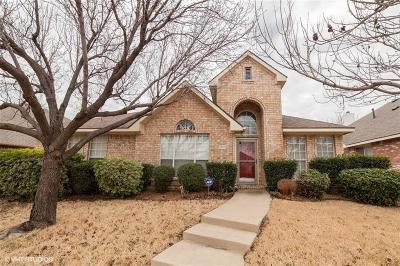 Lewisville Single Family Home Active Option Contract: 1644 Niagara Boulevard