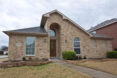 Allen Single Family Home For Sale: 1622 Oak Brook Lane