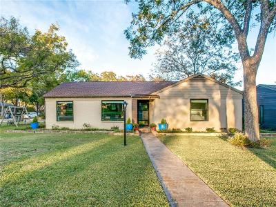 Dallas Single Family Home For Sale: 506 Coolair Drive