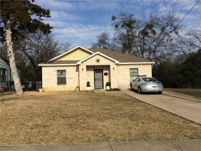 Dallas Single Family Home For Sale: 1623 Fordham Road