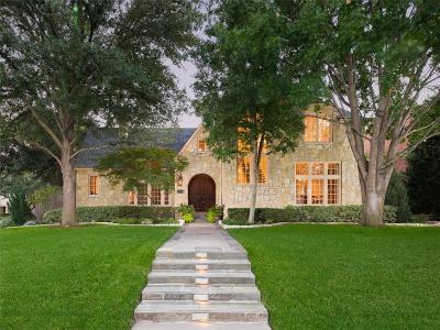 Highland Park, University Park Single Family Home For Sale: 3101 Saint Johns Drive