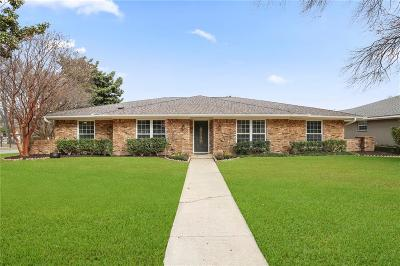 Plano Single Family Home Active Option Contract: 1800 Mercedes Place